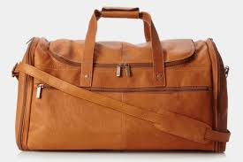 multi pocket duffle bag by david king co