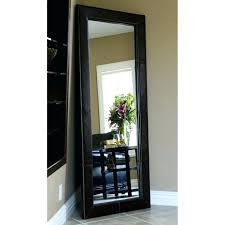 large wood framed mirror medium size of framed wall mirrors black wall mirror bedroom mirrors white