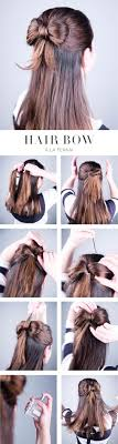 How To Make A Hair Style how to make a hair bow out of your own hair all created 7940 by wearticles.com