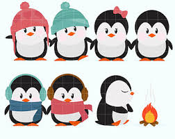 winter penguin clip art. Plain Clip On Winter Penguin Clip Art 0