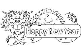 Small Picture Happy New Year Coloring Pages For Kids Picture Archives gobel