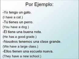Tener And Tener Que Infinitive In Spanish