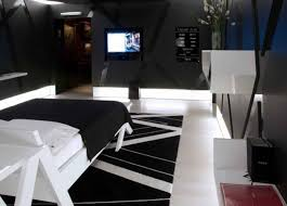 Contemporary Cool Apartment Decorating Ideas For Guys Bedroom Compact Cool  Ideas For Men Dark Hardwood Alarm