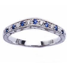 Oxford Diamond Co 21ct E Vs Blue Sapphire Round Cut Diamond