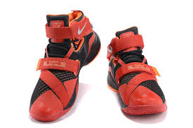 lebron red shoes. nike lebron soldier 9 red black orange basketball shoes [lebron00020] - $75.90 : 1