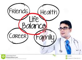 doctor making life balance concept stock photo image  doctor making life balance concept