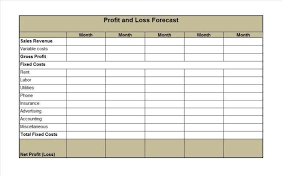 simple profit loss template 35 profit and loss statement templates 31117952885 free simple