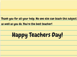 Teacher Message Happy Teachers Day 2019 Greeting Cards Quotes Thoughts