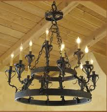 rod iron lighting. c01 santa barbara spanish style wrought iron chandelier rod lighting