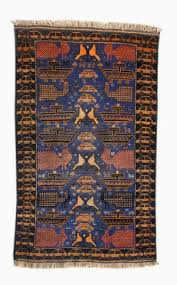 unknown maker in western afghanistan war rug with pea date unknown acquired in