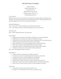 Download Free Sample Resume Templates Word Sample Resume Cover