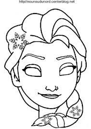 Masque Reine Des Neiges A Colorier Jpg Carnaval Pinterest Coloriage De Masque De Princesse A Imprimer L