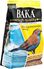 """<b>Корм Вака</b> """"<b>High Quality</b>"""" для экзотических птиц, 500 г — купить в ..."""