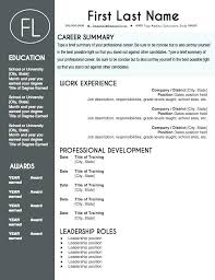 Free Templates For A Resume Resume For Job Template Samples Resumes