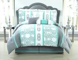 teal and white chevron comforter set grey gray baby bedding green collections sheet king home improvement