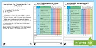 1st 2nd Class Irish Oral Notes Language Milestones