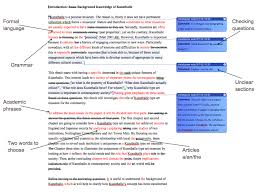 proofreading services uk london proofreaders sample of an edit