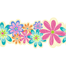 Flower Wall Paper Border Allen Roth 5 In Prepasted Wallpaper Border At Lowes Com