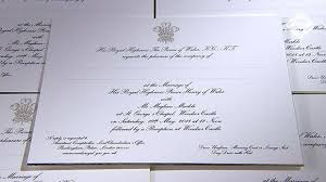 Royal Wedding Seating Chart 2018 Prince Harry And Meghan Markles Royal Wedding Invitations
