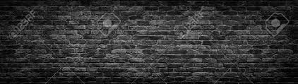 black stone wall texture. Dark Brick Wall, Texture Of Black Stone Blocks, High Resolution Panorama Stock Photo - Wall
