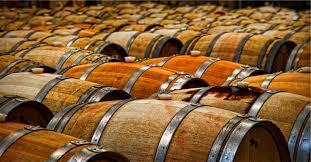 oak wine barrels.  Wine Inside Oak Wine Barrels