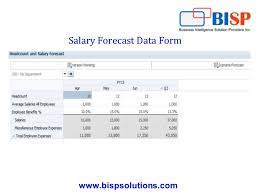Salary Expenses Calculator Hyperion Planning Calculation Salary Forecast
