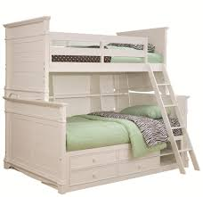 Lea Bedroom Furniture Lea Industries Hannah Twin Over Full Bunk Bed With Storage