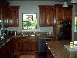 Kitchen Cabinets Stain How To Stain Kitchen Cabinets 3 Stained Hickory Kitchen