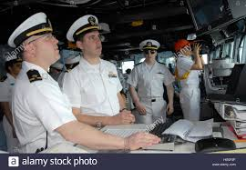 Cwo Navy Chief Warrant Officer Steven Scrambling And Lt J G John Money