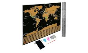 Large Us Map Poster Large Scratch Off World Map Poster With Country Flags And Us States