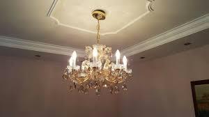 Kronleuchter Lüster Kristall Hängelampe Leuchte Lampe