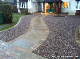 decorative stone gravel midas touch landscapes hertfordshire landscaping driveways patios and paving projects