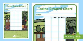 Train Sticker Reward Charts Transport Sticker Stamp Reward