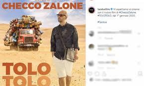 Checco Zalone: il poster del suo film