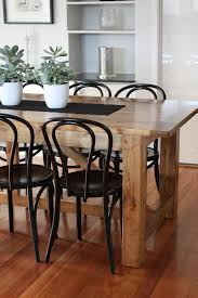 Custom Made Dining Table Bentwood Chairs