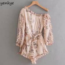Online Shop for Popular bohemian summer <b>sexy jumpsuit</b> from ...