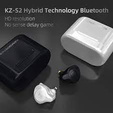 Tai nghe True Wireless KZ S2 - Hàng chính hãng | Bluetooth 5.0, Game Mode,  1BA + 1DD, Pin 18 giờ