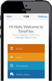 Online Roster Mobile Workforce Planning Timefiler