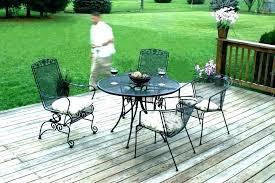 black wrought iron round patio table wrought iron patio table round tables rectangular black wrought iron