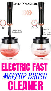 your own diy makeup brush cleaner use this machine to clean brushes in