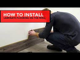 how to install laminate flooring on the