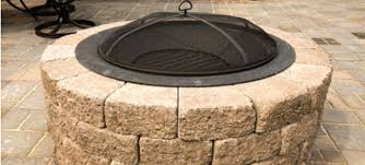 Do It Yourself Fire Pit With Patio Blocks Patio Block Fire Pit Use