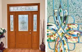 Decorative Door Designs Western Reflections Doorglass Laurel door glass design 93