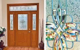Decorative Door Designs Western Reflections Doorglass Laurel door glass design 93