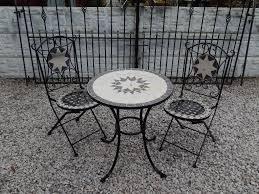 garden furniture outdoor furniture vintage garden salvage wrought iron bistro set patio