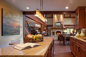 Living Room And Kitchen Kitchen Great Room Remodels Great Idea Kitchen Great Room