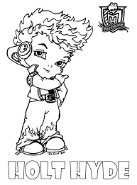 Small Picture Monster High Coloring Pages Baby httpeast colorcommonster