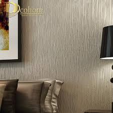 Beste Kopen Eenvoudige Luxe Moderne Gestreepte Behang Voor Muren 3 D