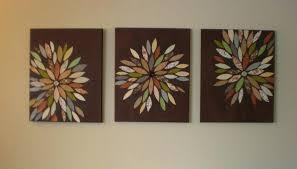 decoration image of wall art ideas diy mid century modern
