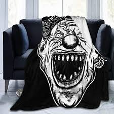 Blankets Queen Size,Halloween Devil Scary Clown ... - Amazon.com